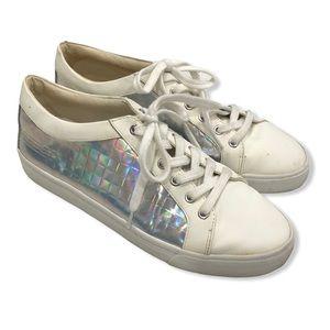 Gianni Bini Holographic Sneakers—8